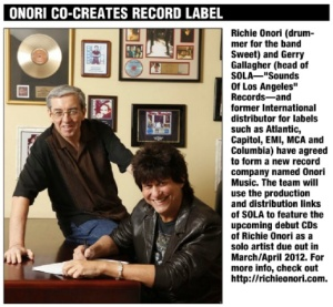 Onori Co-Creates Record Label