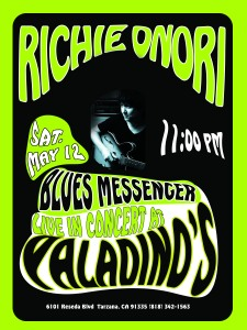 Richie Onori at Paladinos May 12