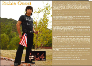 Richie in Vents Magazine - pg 36-37