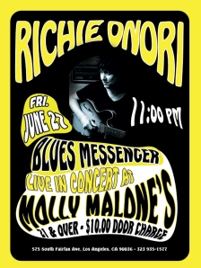 Richie Onori's Blues Messenger @ Molly Malone's June 27th